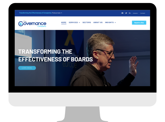 Portfolio - The Governance Company Website
